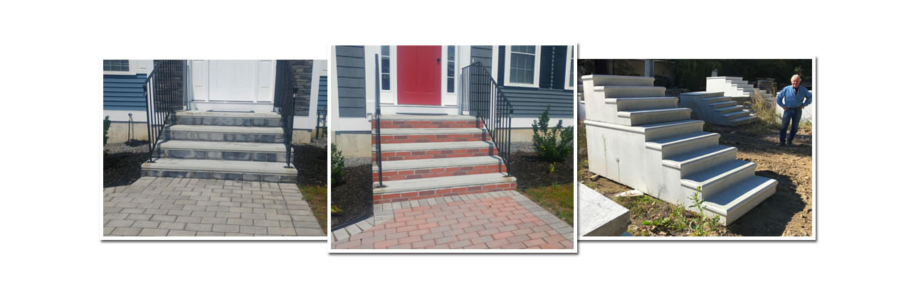 Precast Concrete Steps - Wachusett Precast Inc